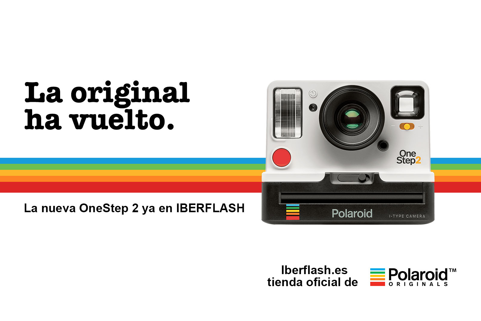 b1859c2f50 Tienda Oficial de Polaroid Originals - Iberflash Fotografía